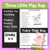 Little Pigs Rap fairy tale poem