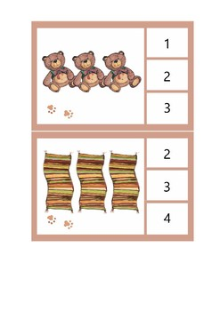 Little Pip 1-10 Number Flashcards
