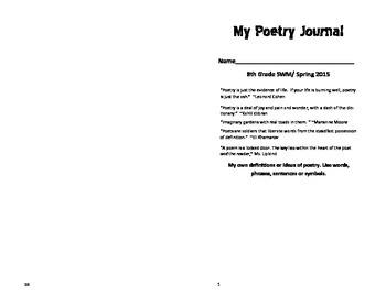 Little Poetry Notebook