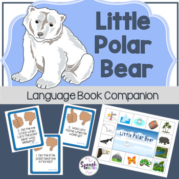 Little Polar Bear: Book Companion Preschool-Grade 2
