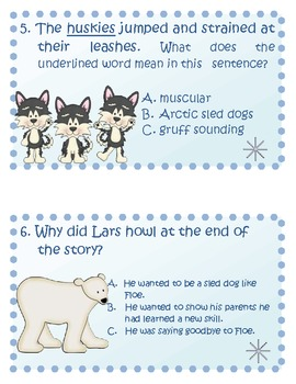 Little Polar Bear and the Husky Pup Comprehension Travel Game and More