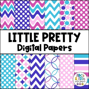 Little Pretty Digital Paper