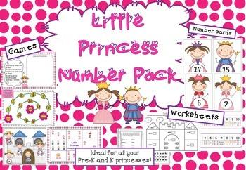 Little Princess Number Pack