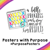 Little Progress, Big Results | 18x24 | Posters with Purpose