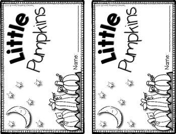 Little Pumpkins --- Halloween Pumpkin Counting Book **FREEBIE**