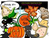 Little Pumpkin Seed Clipart Pack