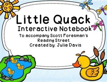 Little Quack Interactive Notebook Journal