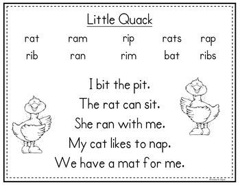 Little Quack Scott Foresman Kindergarten