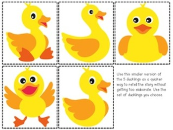 Little Quack! - a Mini Counting Unit for Kinder