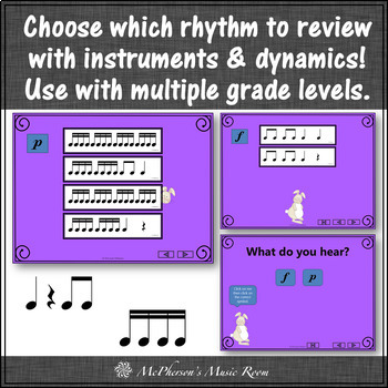 Little Rabbit: Orff, Rhythm, Form, Dynamics and Instruments (Bundle)