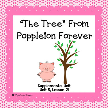 The Tree- First Grade Supplemental Unit