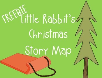 Little Rabbit's Christmas Stoy Map Activity