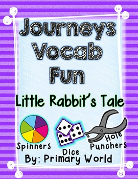 Little Rabbit's Tale, Journeys First Grade Unit 4 Lesson 20 Vocabulary
