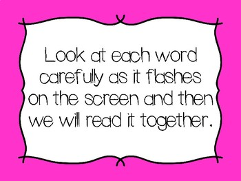 Little Rabbit's Tale High Frequency Words