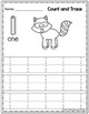 Woodland Animals Count and Trace 1 - 20