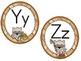 Little Raccoon - Word Wall Alphabet Headers