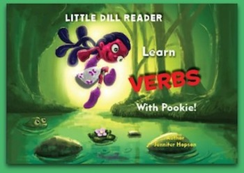 Little Reader Learn Verbs With Pookie - Phonics and Grammar in one!