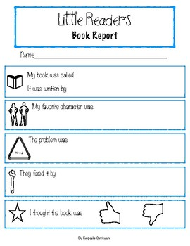 Little Reader's Book Report