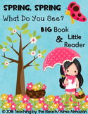 Little Reader with Teacher Big Book- Spring, Spring, What Do You See?