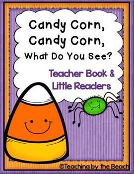 Little Reader With Teacher Book Candy Corn Candy Corn