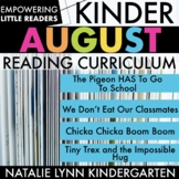 Little Readers August Kindergarten Reading Unit | Distance