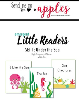Little Readers BUNDLE - Under the Sea