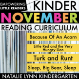Little Readers November Read Aloud Lessons and Activities