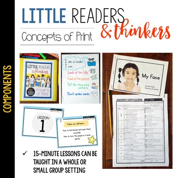 Little Readers & Thinkers: Concepts of Print