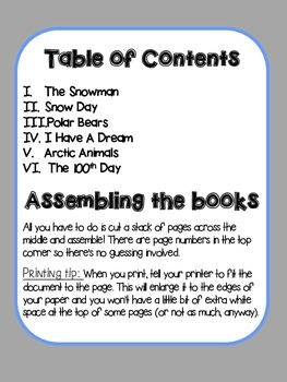 Little Readers for January
