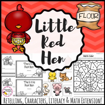 The Little Red Hen Literacy Activities