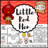 The Little Red Hen - Print & Digital Distance Learning Activities