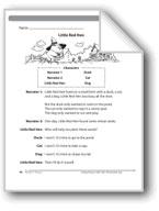 Little Red Hen (A Readers' Theater script)