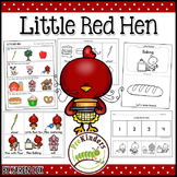 Little Red Hen Activities (Pre-K, Preschool)