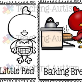 Little Red Hen Activity Bundle