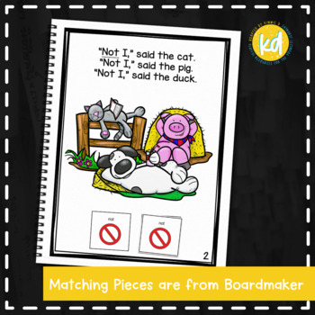 Little Red Hen: Adapted Book for Early Childhood Special Education