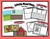 Little Red Hen Busy Folder Theme Speech, Dramatic Play, Wr