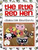 Little Red Hen Character Headbands