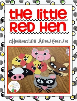 Little Red Hen Character Headbands