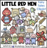 Little Red Hen Clip Art - Whimsy Workshop Teaching