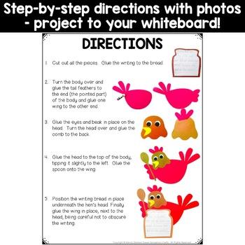 Little Red Hen Craft