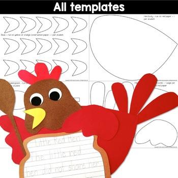 The Little Red Hen Craft