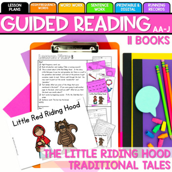 Little Red Hen Guided Reading Levels AA-J
