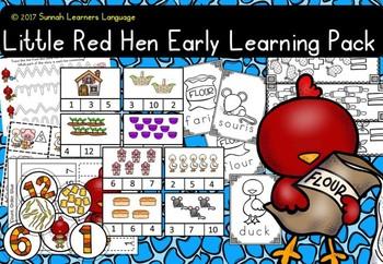 Little Red Hen Kinder pack 2