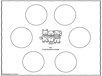 Little Red Hen Language Arts And Math Activities