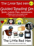 A+ Little Red Hen-B-2 Guided Reading-Emergent Reader,Lesson Plan,Assessments