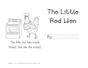 Little Red Hen Leveled Readers