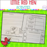 Little Red Hen Literacy Activities