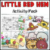 Little Red Hen Literacy Activities Fairy Tale
