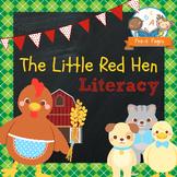 Little Red Hen Literacy Activities for Pre-K and Kindergarten