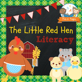 Little Red Hen Literacy Activities for Pre-K and Kindergarten